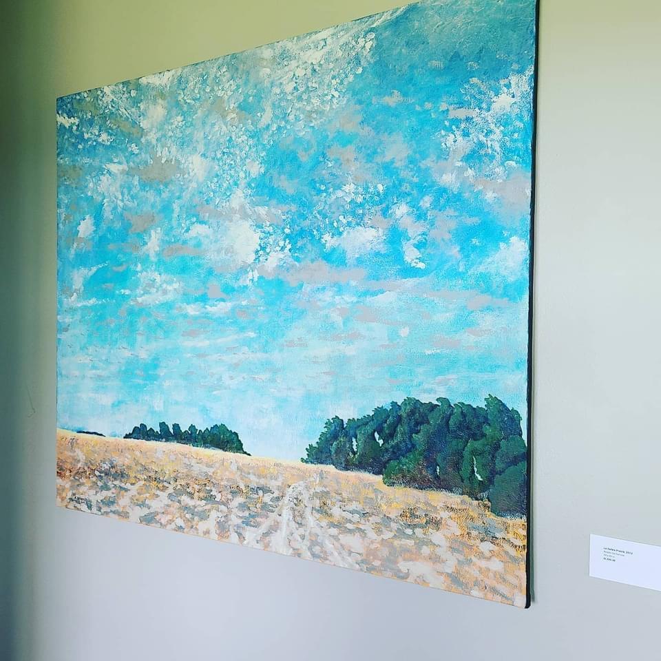LaSalle's Prairie, Kerry Beverly, artwork, Village Farm, Bergstrom Farmhouse, Big Skies,