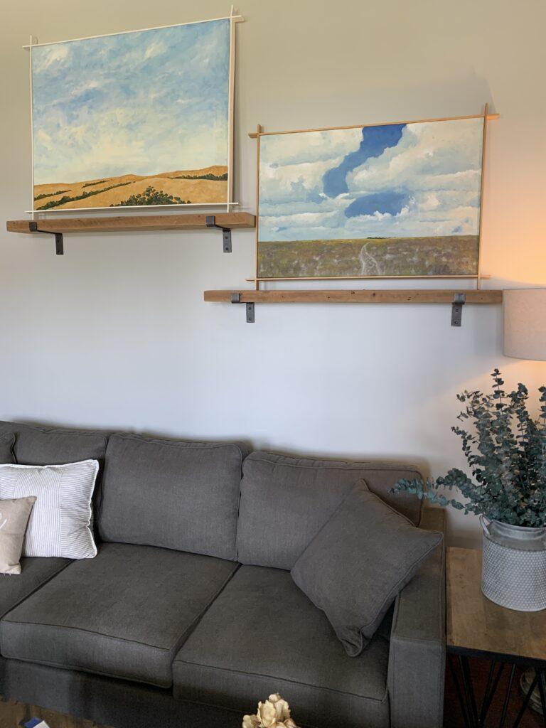 Single Track, Bonny Ranch, Kerry Beverly, artwork, Village Farm, Bergstrom Farmhouse, Big Skies,